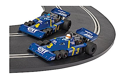 SUPERSLOT H4084A SUPERSLOT Tyrrell P34 #3 Und #4 Swedish Gp 1976
